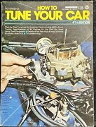 Petersen's How To Tune Your Car 4th Edition 1975 Automobile Manual