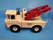 Mighty Tonka 24 Hour Service Aa Wrecker Double Boom Pressed Steel Tow Truck St