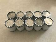 Half Dollar Unsearched Rolls 10 Roll Lot Kennedy 1/2 Dollars Fed Rolled 100 Face