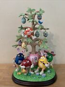 Rare The Mandmand039s Easter Tree With Ornaments - Danbury Mint Collectible Figure