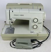 Vintage Sears Kenmore Model 158.15150 Domestic Sewing Machine W/ Case - Tested