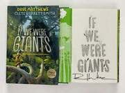 Dave Matthews Band Signed Autograph If We Were Giants Book - Crash, Everyday