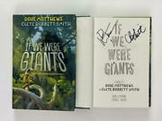 Dave Matthews Signed Autograph If We Were Giants Book - Band Crash Big Whiskey