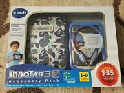 Vtech Innotab 3s Blue Camo Learning System 3 S Accessory Pack