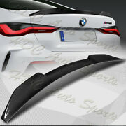 For 2021-2022 Bmw G22 4-series 2dr M4-style Real Carbon Fiber Trunk Spoiler Wing