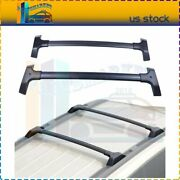 For 09-17 Chevrolet Traverse Roof Rack Cross Bar Rail Luggage Cargo Style 2pcs