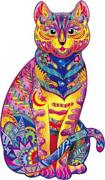 Jigsaw Puzzles, Wooden Puzzles For Adults, Wooden Cat Puzzles, 138 Uniquely The