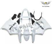 Ms Injection Fairing Kit White Fit For Kawasaki 2000-2002 Zx6r Zx-6r Abs Z030