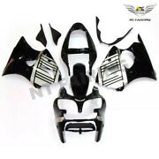Ms Fairing Injection Silver Black Fit For Kawasaki 2000 2002 Zx6r Zx-6r Z020