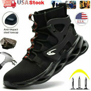 Mens Work Boots Steel Toe Cap Safety Shoes Indestructible Sneakers Bulletproof