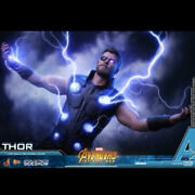 Hottoys 1/6 Scale Thor Used Opened With More Good