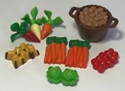 Playmobil Supermarket Grocery Food Store- Vegetable Lot- Farm, Zoo