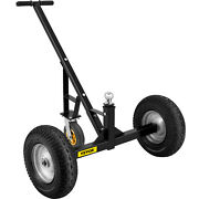 Vevor 1000 Lbs Utility Trailer Dolly With Hitch Ball And 16 Air Tires Towing
