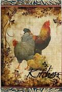 Puzzles For Adults 1000 Piece Vintage Roosters Jigsaws Puzzles Wall Art Kids