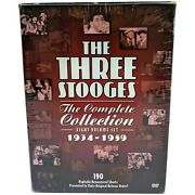 The Three Stooges Collection Complete Set 1934-1959 Dvd, 2010, 8-disc Set,...