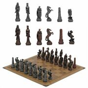 Chess Board Checker Sports Metal Toy Set Dragon Soldier Luxury Knight Table Game