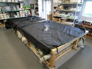 Party Barge 254 Regency Double Canopy Cover Set With Boot 2014 Black Marine Boat