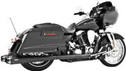 Freedom Performance Blk American Outlaw Comp Exhaust System For 09-15 Flh/flt