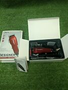 Wahl Pro Designer Vibrator Clipper 785014 With All 6 Cutting Guide Combs Manual