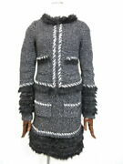 With Fur Knit Jacket Dress Set Sales Women And039s Suit Can Be Used No.9517