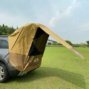 Camping Outdoor Car Trunk Tent Rear Awning Barbecue Sunshade Rainproof Canopy