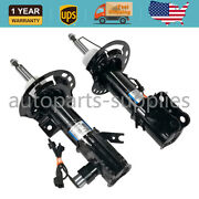 2pcs Front Shock Absorbers Fit For Lincoln Mkz 2013-2017 3.7l 2.0l W/ Electric