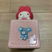 My Melody Pottery Super Rare Piggy Bank Showa Retro From Import Japan