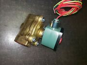 Asco Redhat Solenoid Valve 1 Pipe Normally Closed 120 Vac Qty 12