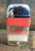Vintage Renault Dauphine Scripto Vu Lighter Made In Usa Pre-owned Free Shipping