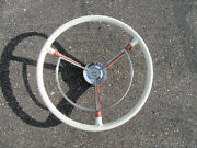 1959 Ford Galaxie 500 Steering Wheel And Horn Ring