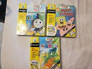 Lot Of 3 Leap Frog My First Leappad Preschool Activity Books And Cartridge Thomas