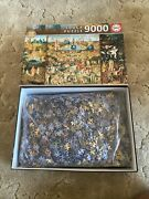 9000 Pcs Jigsaw Puzzle Bosch - The Garden Of Earthly Delights Art Educa