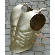 Antique Medieval Knight Cuirass Roman Anatomically Breastplate Front And Back Gift