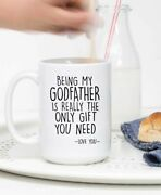 Godfather Gifts Baptism Gift For Women Godfather Mug Best Godfather Gift Baptism