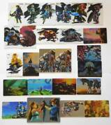 The Legend Of Zelda Breath Wild Card Candy All 26 Types Set Botw There Is Framed