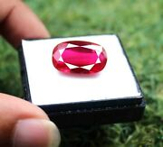 Rare Collection Transparent Ruby 24.10ct Certified Natural Burma Gemstone Vp1738