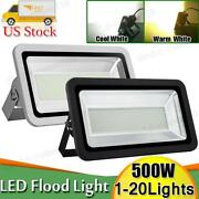 500w Led Flood Light Warm Cool White Outdoor Security Work Lamp Spot Floodlight