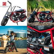 Coleman Powersports Gas Trail Mini Bike 100cc Powered Reliable Ride Steel Frame