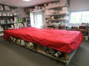Suntracker 30942-22 Party Barge 18 Pontoon Cover 2006 Red Marine Boat