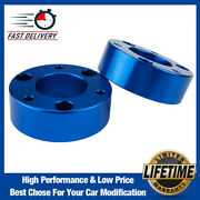 3 Front Leveling Suspension Lift Kit For 2007-2020 Chevy Silverado 1500 Blue