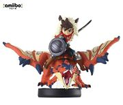 One-eyed Liolaeus And Rider Boy Amiibo Monster Hunter Stories Series From Japan