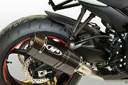 Tech 1 C.f. Full Exhaust W/ Titanium Mid And S.s. Tubing For 11-21 Gsxr600/750