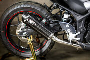 Carbon Fiber Full Exhaust W/ S.s. Tubing M4 Ya3024 For 15-21 Yamaha R3 And Mt03