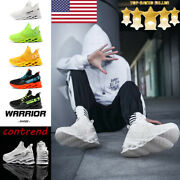 Menand039s Non-slip Sports Running Shoes Casual Blade Athletic Sneakers Jogging Gym
