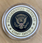 Camp David Presidential Retreat Challenge Coin