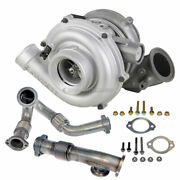 For Ford F250 F350 F450 6.0l Powerstroke Stigan Turbo W/ Charge Pipe Kit Dac