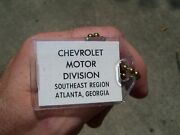 Vintage 1960and039 S Chevrolet Accessories Nos Promo Auto Key Holder Car Part Old Fob