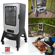 Pit Boss Silver Star 2 Series Digital Smoker /double-walled Blanket Insulation