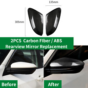 Side Rear View Rearview Mirror Wing Caps Replacement For Honda Civic10 2016-17