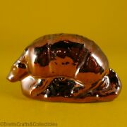 Wade Whimsies 2000 Fair Special Issues / Colorway - Brass Glaze Armadillo
